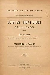 Quistes hidatídicos del hígado.1892