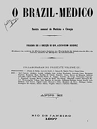 [Periódico] O Brazil-Medico : revista semanal de medicina e cirurgia, v. 11, 1897