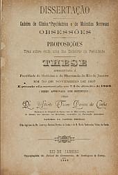 Obsessões. 1898