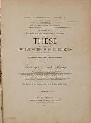 Papaina: sua acção Physiologica e Therapeutica. 1887