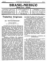 [Periódico] O Brazil-Medico : revista semanal de medicina e cirurgia, v. 50, P2, jul-dez, 1936