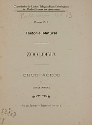Historia Natural : Zoologia. Publ. 13 V. 13 An. 5 1913