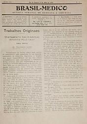 [Periódico] O Brazil-Medico : revista semanal de medicina e cirurgia, v. 53, P2, maio-ago, 1939