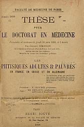 Les phtisiques adults e pouvres.1898