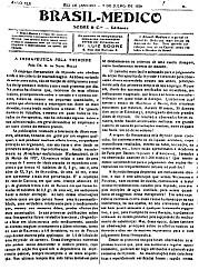 [Periódico] O Brazil-Medico : revista semanal de medicina e cirurgia, v. 42, P2, jul-dez, 1928