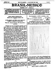 [Periódico] O Brazil-Medico : revista semanal de medicina e cirurgia, v. 45, P2, jul-dez, 1931