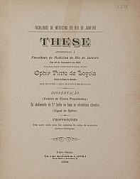 Do abafamento da 2ª bulha na base no alcoolismo chronico. 1909
