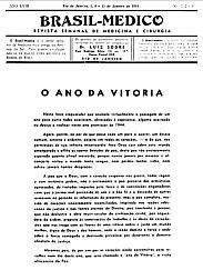 [Periódico] O Brazil-Medico : revista semanal de medicina e cirurgia, v. 58, 1944