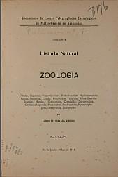 Historia Natural : Zoologia. Publ. 17 ; V. 17, 1914
