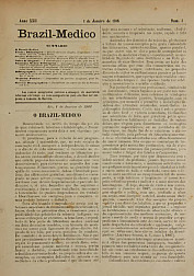 [Periódico] O Brazil-Medico : revista semanal de medicina e cirurgia, v. 22, P1, jan-jun, 1908