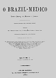 [Periódico] O Brazil-Medico : revista semanal de medicina e cirurgia, v. 2, 1888