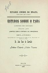 Estudos sobre o Pará. 1899-1901