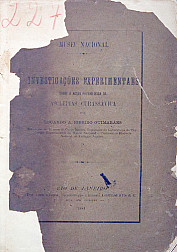 Investigações experimentaes sobre a acção physiologica da asclepias curassávica. 1881