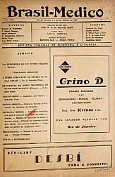 [Periódico] O Brazil-Medico : revista semanal de medicina e cirurgia, v. 59, P1, jan-abr, 1945