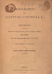 Monographie der Gattung Cinchona L. 1878