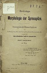 Beitrage zur morphologie der sprosspilze.1895