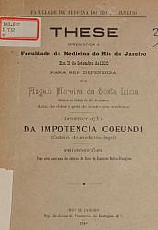 Da impotencia coeundi.1910