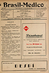[Periódico] O Brazil-Medico : revista semanal de medicina e cirurgia, v. 59, P2, maio-set, 1945