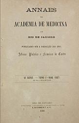 Anais da Academia de Medicina do Rio de Janeiro. v. 52, 1886-1887