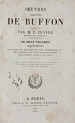 Oeuvres complètes de Buffon : augmentés par M.F. Cuvier ... de deux volumes supplémentaires offrant