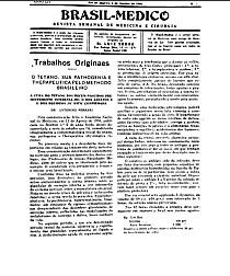 [Periódico] O Brazil-Medico : revista semanal de medicina e cirurgia, v. 54, 1940