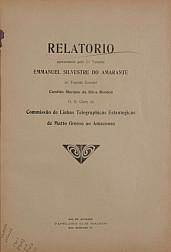 Relatorio apresentado ao Tenente Coronel Candido Mariano da Silva Rondon, D. D. Chefe da Commissão de Linhas Telegraphicas Estrategicas de Matto Grosso ao Amazonas. V.6, Publ.6 [1909]