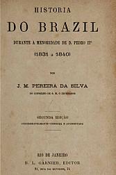História do Brazil : durante a menoridade de D. Pedro II (1831-1840).1881