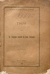 Do envenenamento pelo fumo e pela nicotina.1888