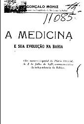 A medicina e a sua evolução na Bahia.1923