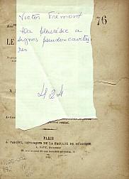 La pleuresie a signes pseudo-cavitaires.1885