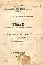 Do diagnostico e tratamento das nevroses diathesicas.1882