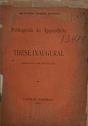 Pathogenia da appendicite.1898