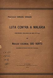 luta contra a malária.1934