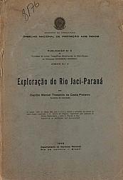 Exploração do Rio Jaci-Paraná. Pub. 5 ; n .5, 1949