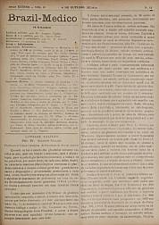 [Periódico] O Brazil-Medico : revista semanal de medicina e cirurgia, v. 38, P4, out-dez, 1924