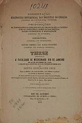 Diagnóstico differencial das moléstias do coração. 1870