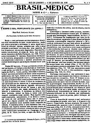 [Periódico] O Brazil-Medico : revista semanal de medicina e cirurgia, v. 44, P1, jan-jun, 1930