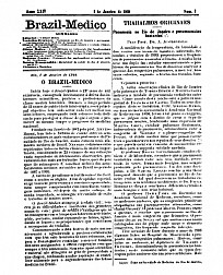[Periódico] O Brazil-Medico : revista semanal de medicina e cirurgia, v. 24, 1910