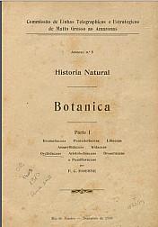 Historia Natural: : Botanica. Parte I a V , 1910