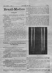[Periódico] O Brazil-Medico : revista semanal de medicina e cirurgia, v. 36, P2, maio-jun, 1922