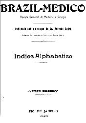 [Periódico] O Brazil-Medico : revista semanal de medicina e cirurgia, v. 34, 1920