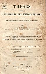 Recherches zoologiques et anatomiques sur des nématoïdes non parasites marins. 1870