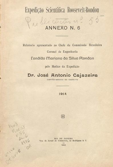 Relatório apresentado ao chefe da Commissão Brasileira...Publ. 55 V. 55 1916
