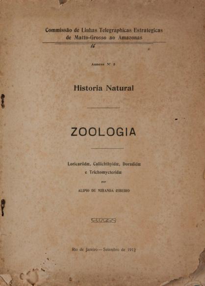 Historia Natural : Zoologia. Publ. 16 V. 16 1912