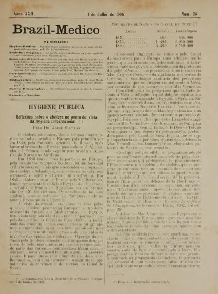 [Periódico] O Brazil-Medico : revista semanal de medicina e cirurgia, v. 22, P2, jul-dez, 1908