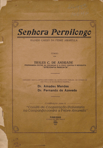 Senhora Pernilongo.1929